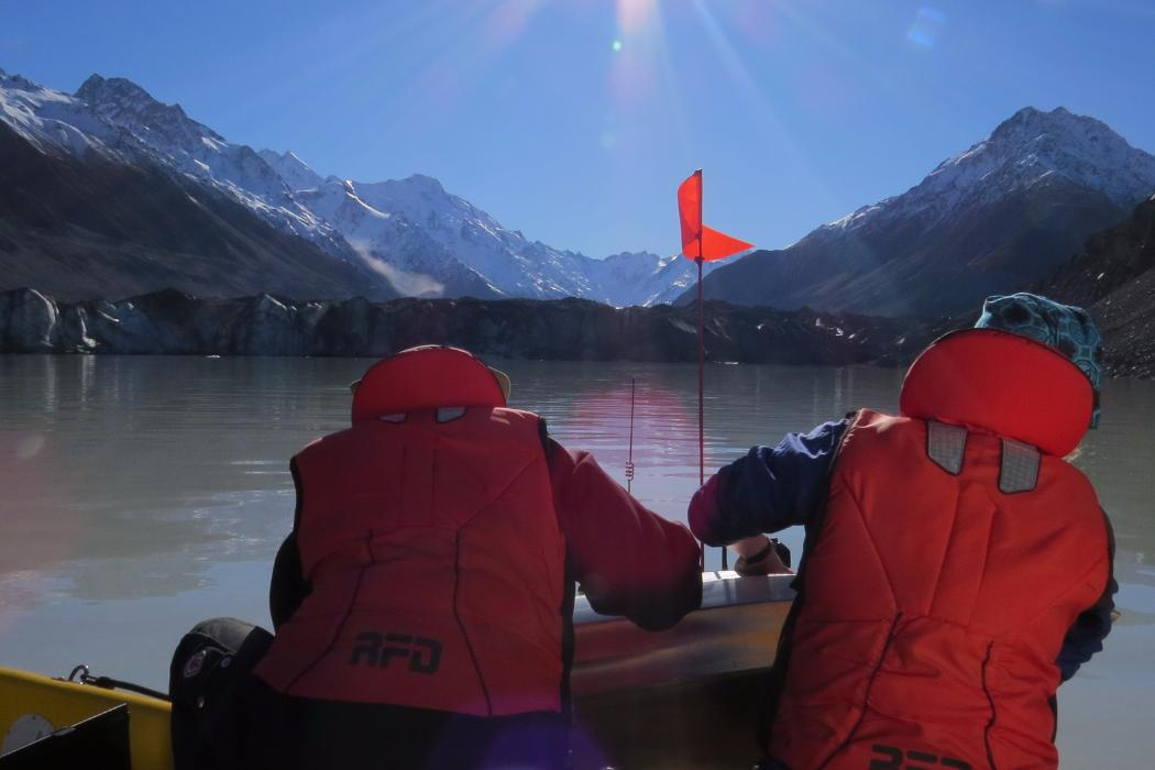 Lake survey, Geology