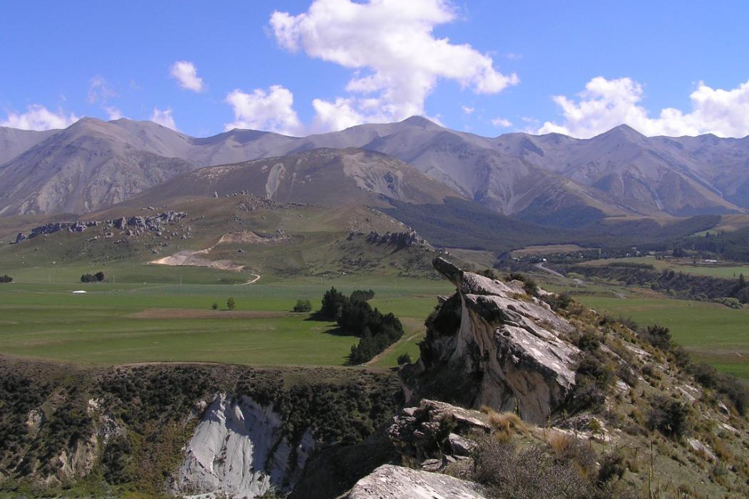 Cass field station, Geology