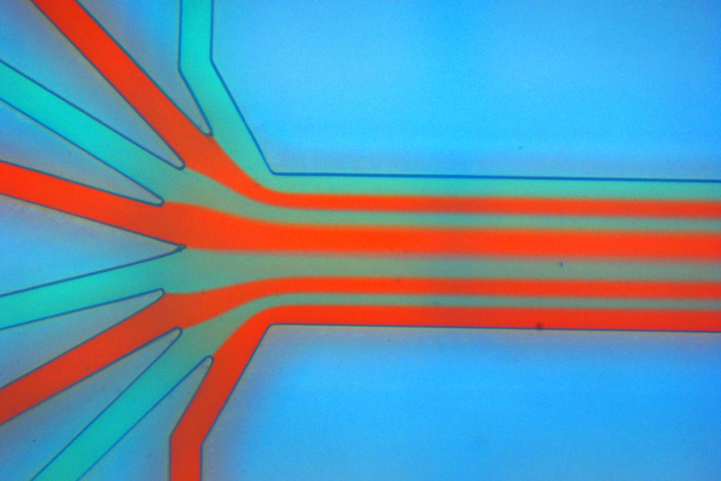 Materials Cluster, Microfluidic chip