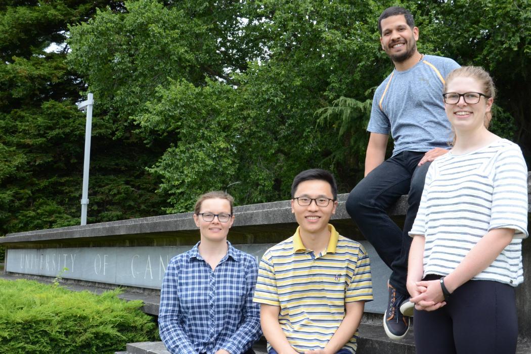 Catherine Bishop PhD team