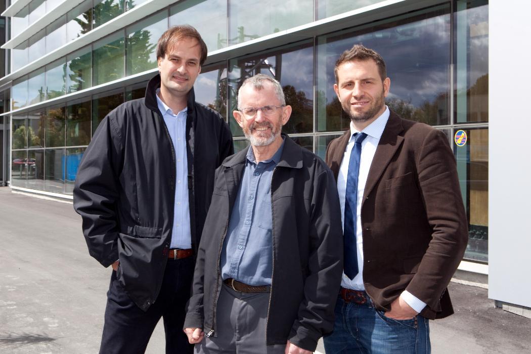 Andy Buchanan, Stefano Pampanin and Alessandro Palermo