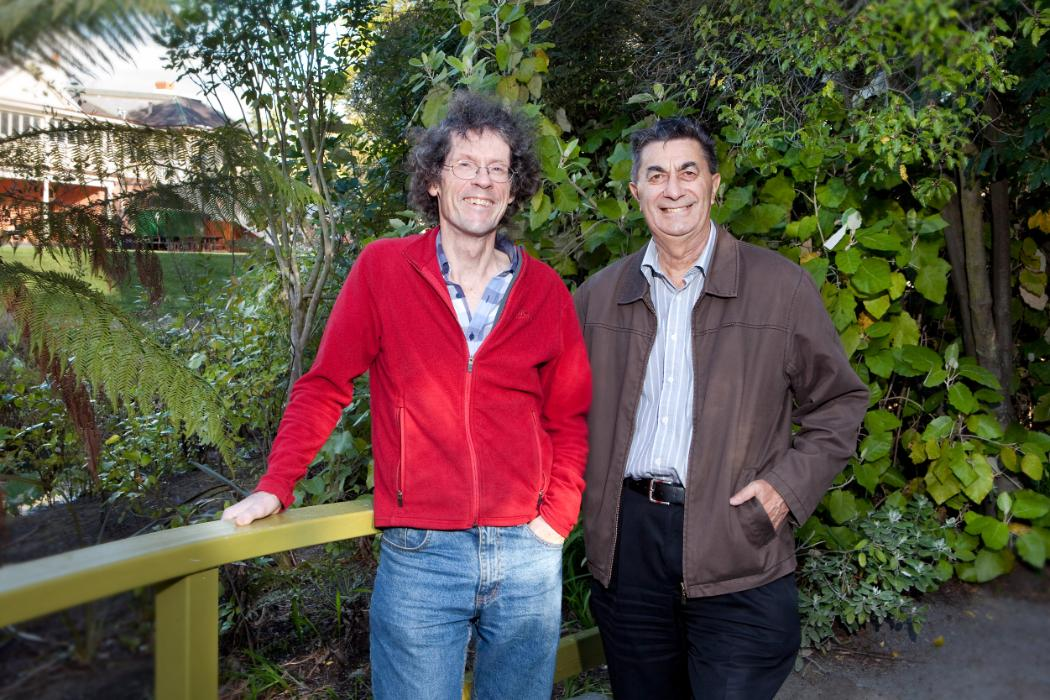 Professor Angus Macfarlane and Professor Dave Kelly
