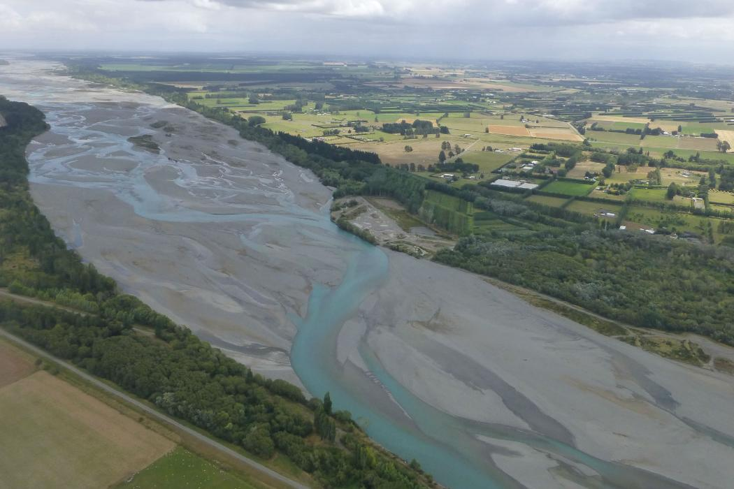 sediments research braided river