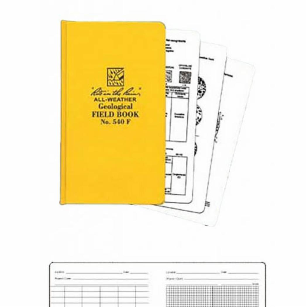RITR540F Rite In The Rain Geological waterproof notebook