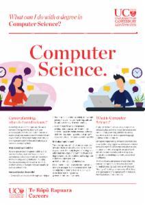 Careers Computer Science