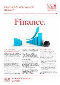 Careers Finance