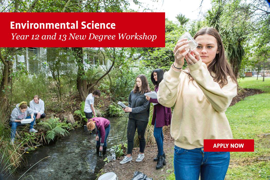 Environmental Science new degree workshop