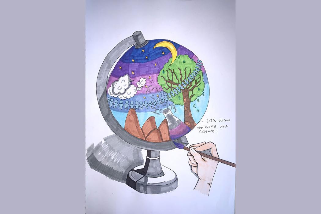 Art of Science 2020 Intern 04 HaoMing Yang