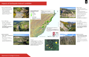 Geology impacts of earthquakes poster