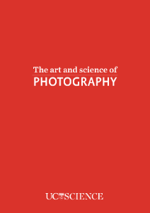 The art and science of photography, Matt Walters
