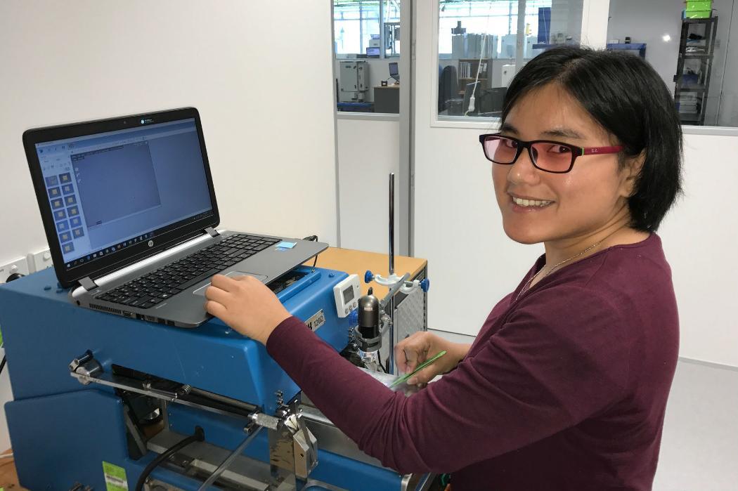 UC graduate Lita Lee at work