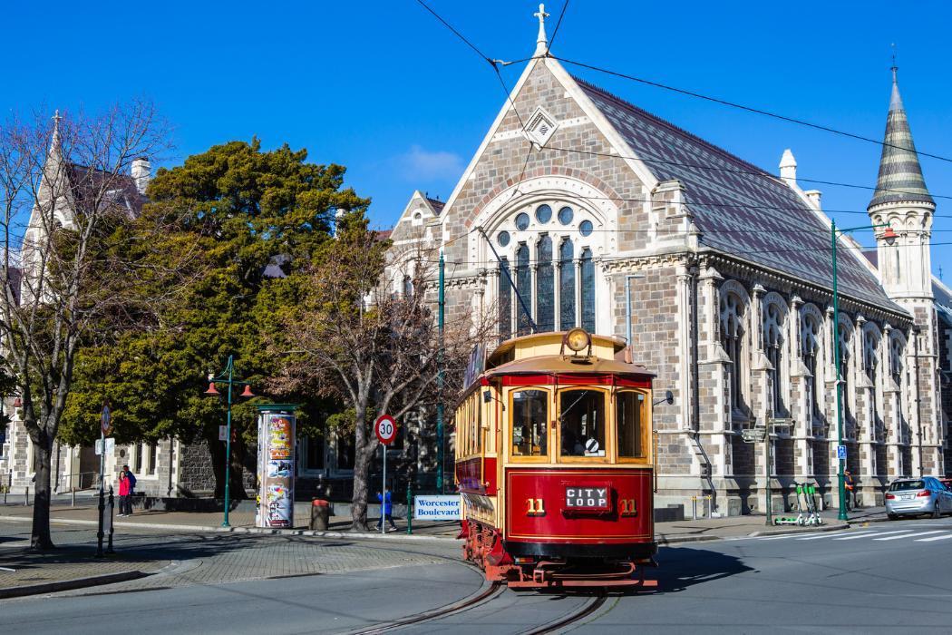 Christchurch City, City Tram