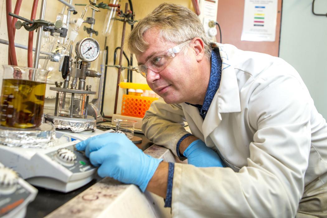vladimir golovko in his research lab