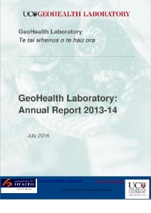 GeoHealth Laboratory Annual Report 2013-14