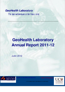GeoHealth Laboratory Annual Report 2011-12