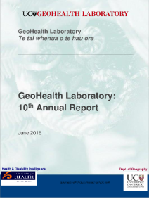GeoHealth Laboratory Annual Report 2015-16