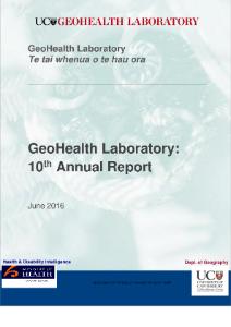 GeoHealth Laboratory Annual Report 2014-15
