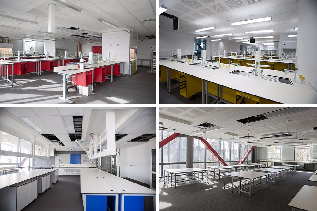 RRSIC building montage interior