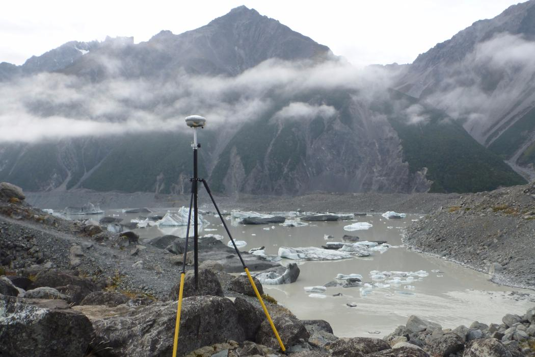 Glacier research, Geology