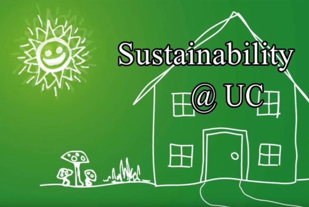 Sustainability at UC youtube thumbnail