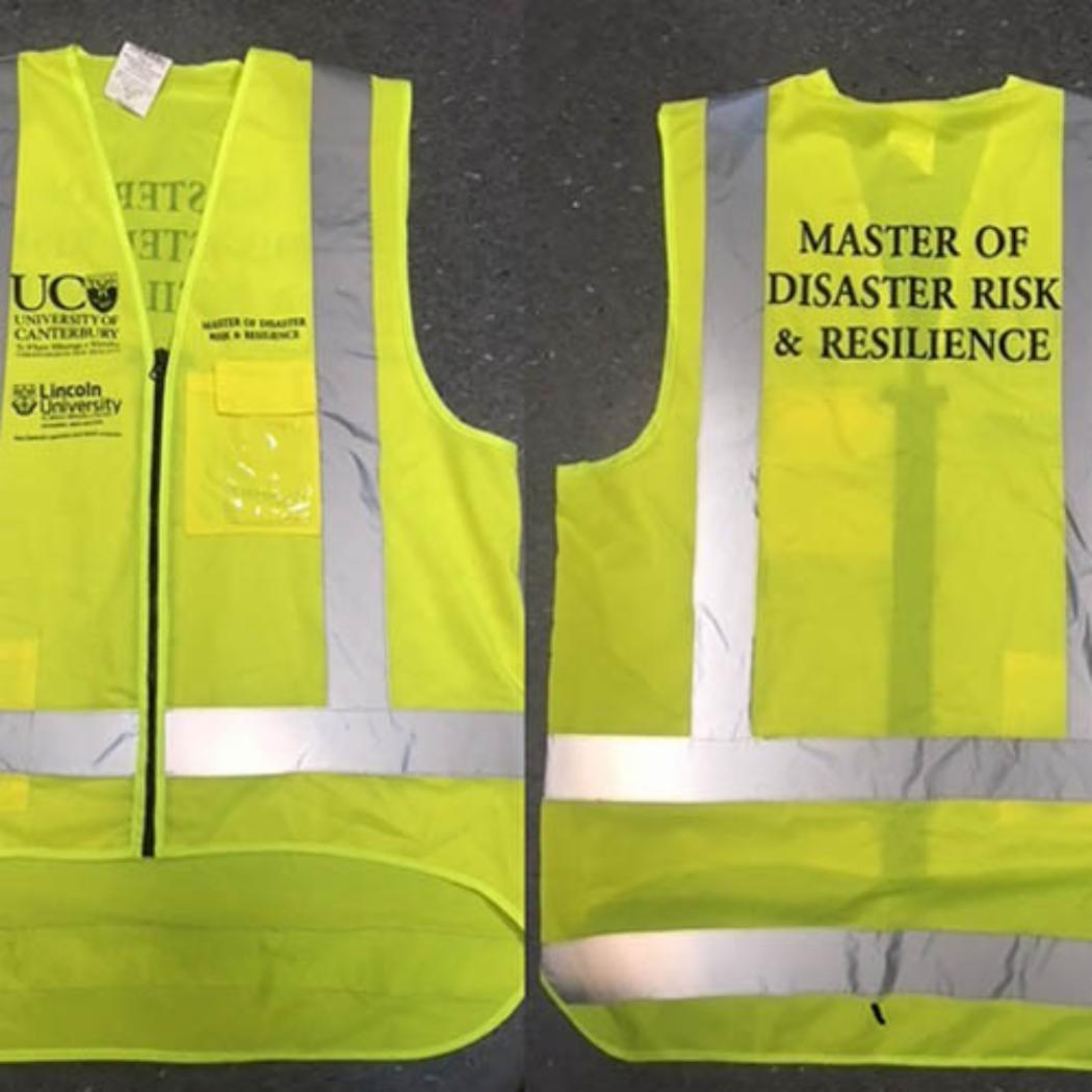 High visibility vest MDRR branded