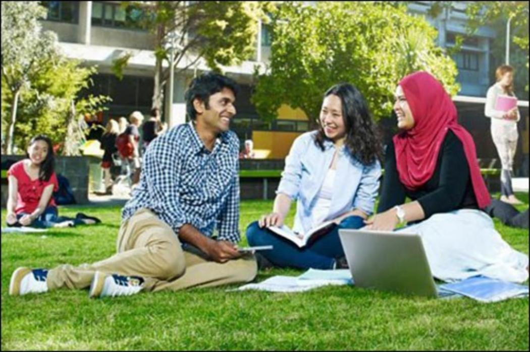 online to on campus learning content block