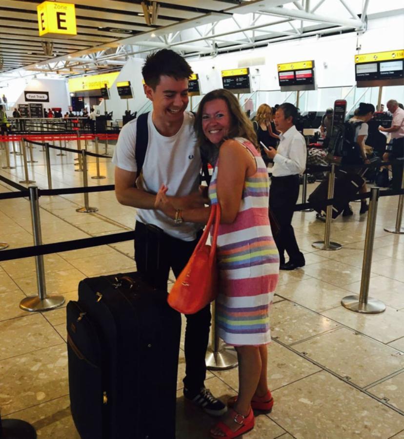Harry Whan Bye Mum