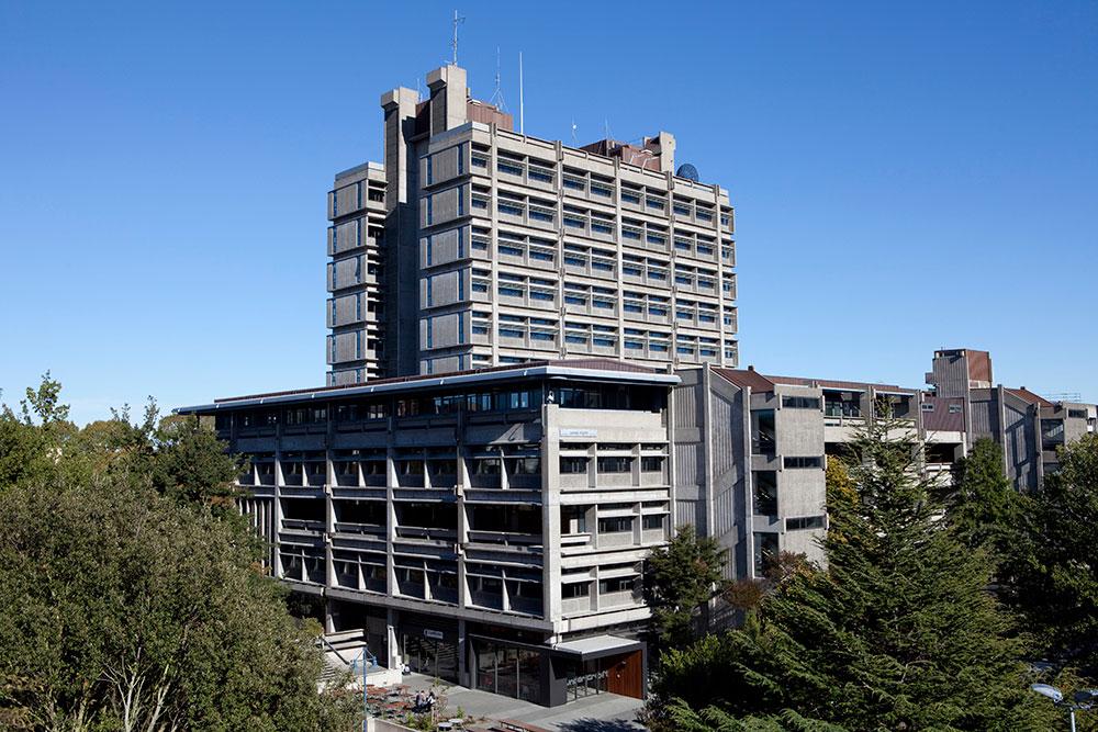 james hight building landscape