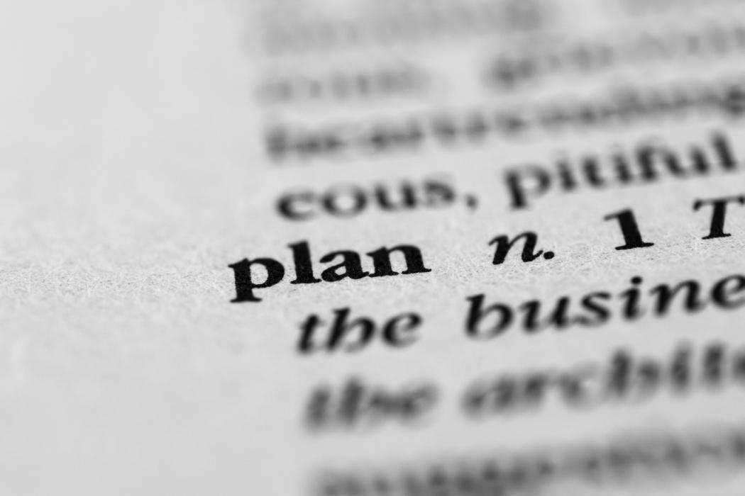 Plan dictionary definition Shutterstock 306596132