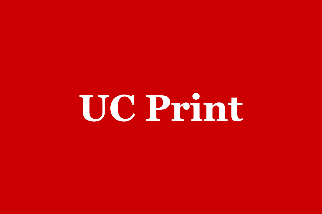 UC Print on red