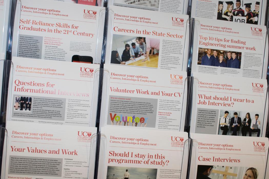 Careers employment resources brochures