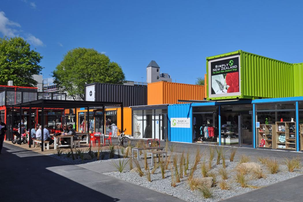 Container Shopping Area Opened in Christchurch Depositphotos 14488085