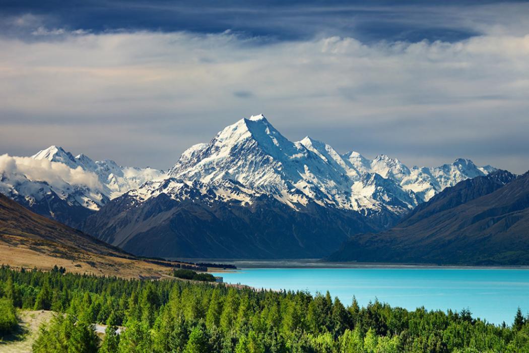 Mount Cook, New Zealand Depositphotos 4687852