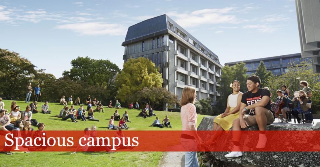 Spacious campus