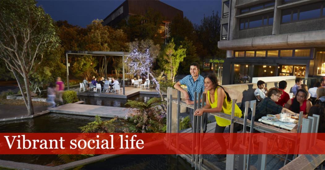 Vibrant social life