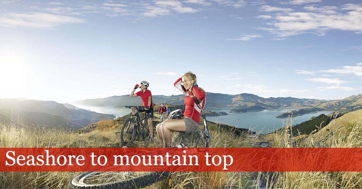 Bikers - Seashore to Mountain top