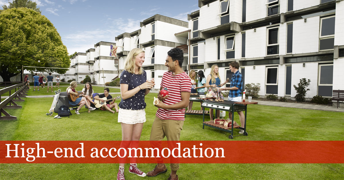 Halls - High end accommodation