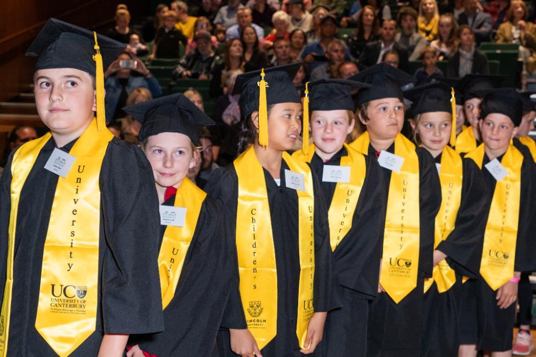 childrens university graduation