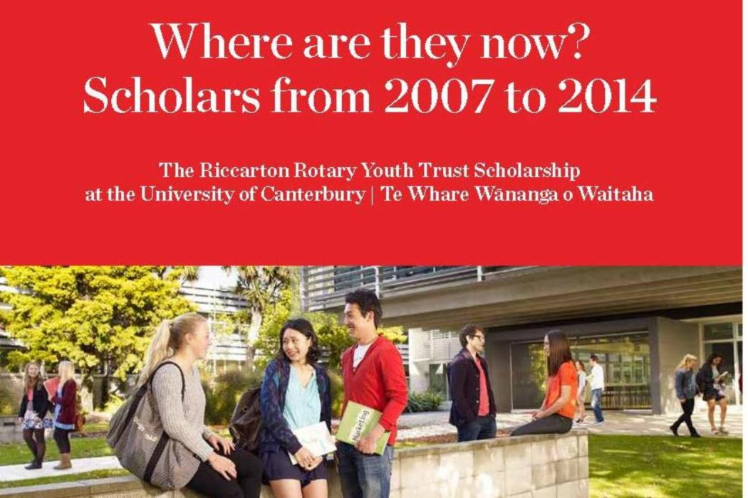 Riccarton Rotary Youth Trust Scholarship