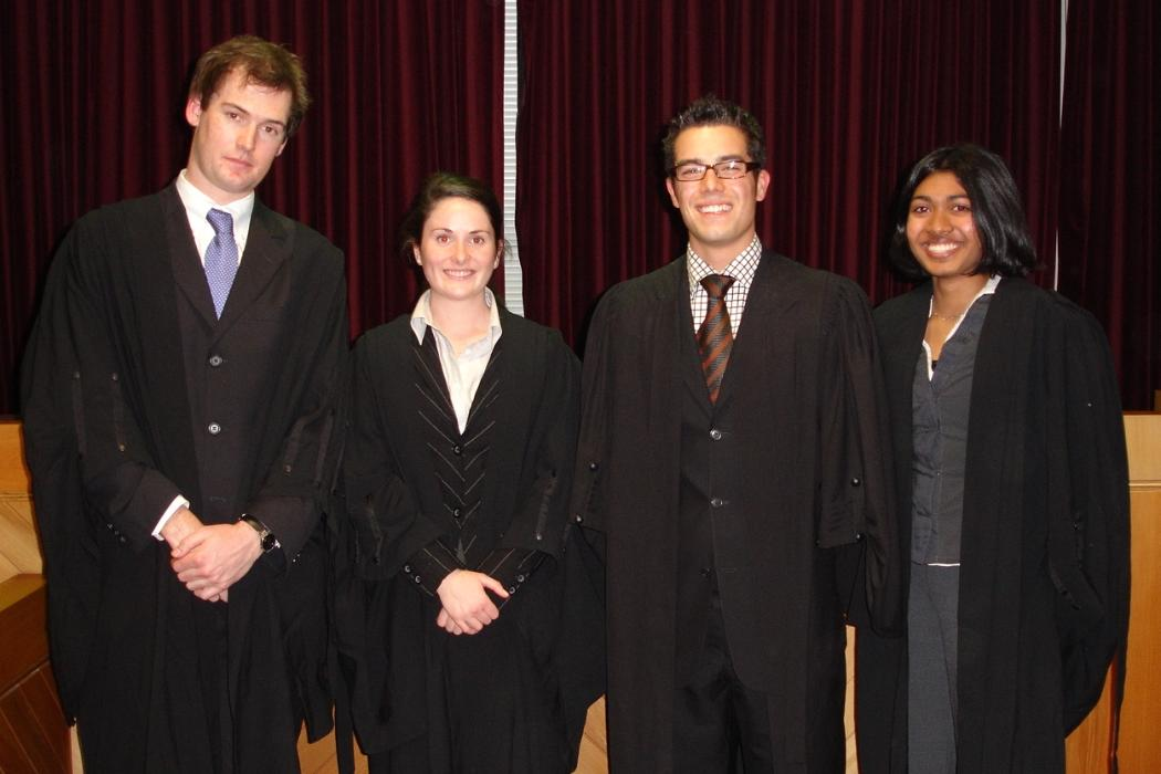 UC Mooting Team 2006