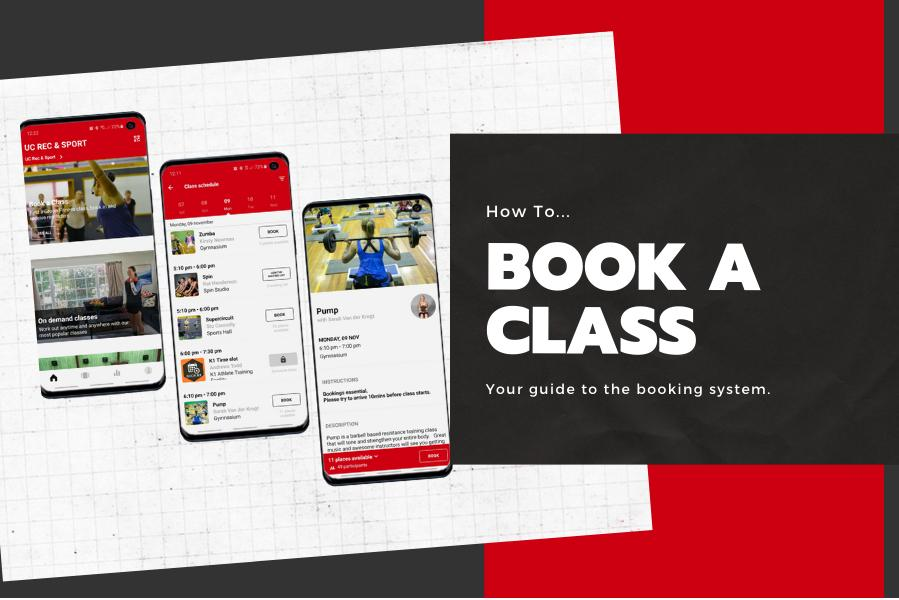 How To - Book a Class