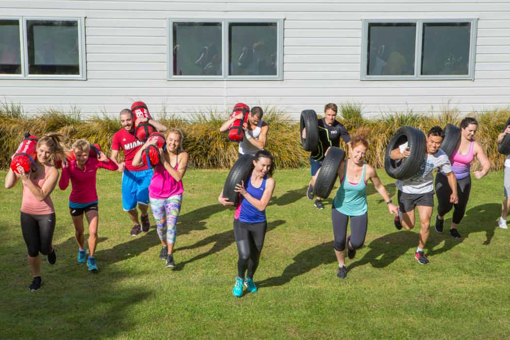 Boot camp group training