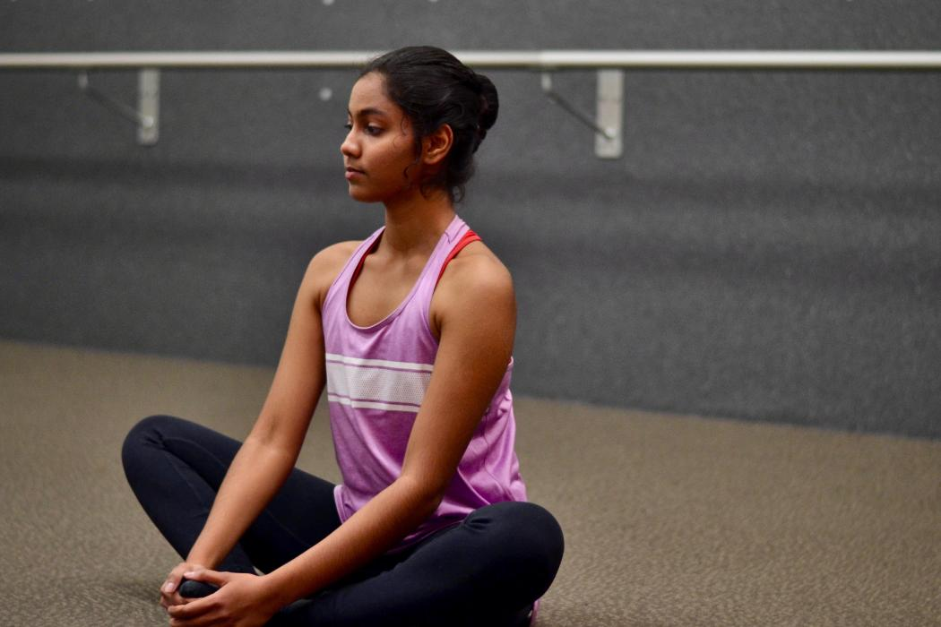 Ballet seated posture