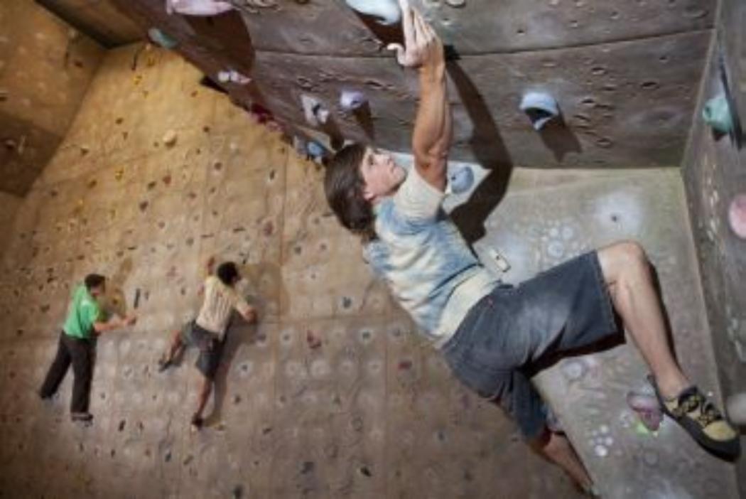 Indoor Rock climbing resized