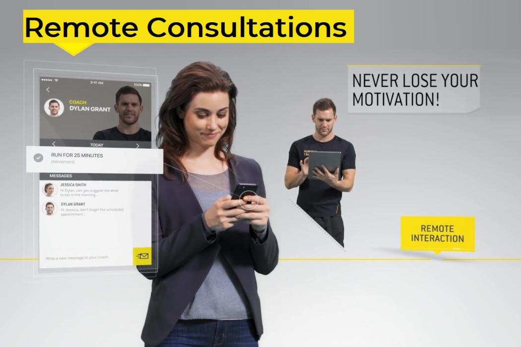 remote consultations with MyWellness