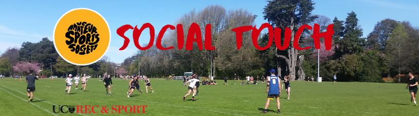 Social Touch Banner