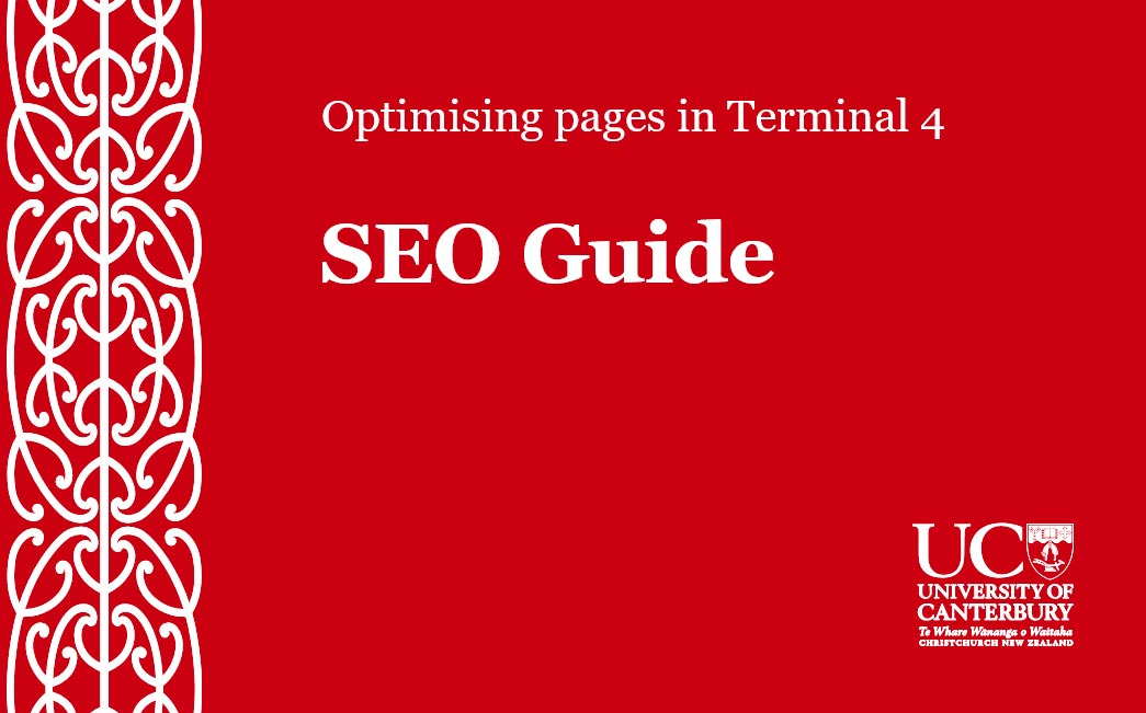 UC SEO Guide Cover Image